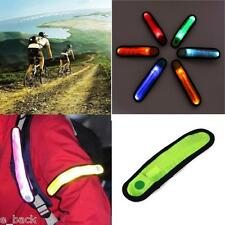 LED Safety Reflective Belt Strap Arm Band Outdoor Sports Night Cycling GreenNew