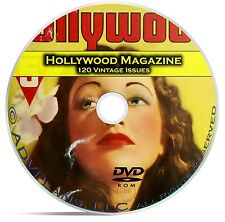 Hollywood Magazine, 120 Classic issues, Golden Age Movies, 1934-1963, DVD CD C13