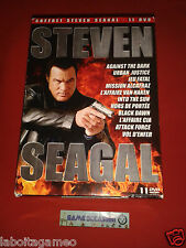 STEVEN SEAGAL ANTHOLOGY 11 FILMS COFFRET COLLECTOR DVD