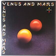WINGS: Venus and Mars USA CAPITOL w/ STICKER NM- Beautiful BEATLES