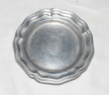 "Wilton Columbia RWP Pewter Queen Anne 4.1/2"" Small Plate"