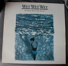 """Vinilo LP 12"""" 33 rpm WET WET WET - HOLDING BACK THE RIVER - Long Playing Record"""
