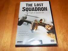 THE LOST SQUADRON P-38 WWII USAAF Fighter Glacier Girl Plane Restoration DVD NEW