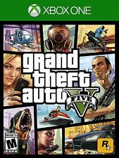 Grand Theft Auto 5 GTA V for Xbox One S Console New Sealed Ships Fast !!!