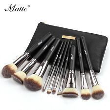 Matto 10pcs Makeup Brush Set  Professional Cosmetic Make Up Brushes Tools Kit