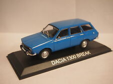 Dacia 1300 Estate / RENAULT 12 Estate  5 DOOR In Blue 1/43rd Scale