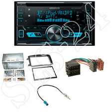 Kenwood DPX5000BT 2-DIN CD Radio+Mercedes C-Klasse W203 Blende+Antenne Adapter