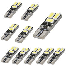 10x LED White T10 168 194 W5W Wedge 6-SMD 5730 Light bulb CANBUS