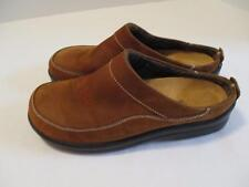 Womens FOOTPRINTS Brown Leather Mules EU 38 US 7.5-8 COMFORTABLE md in Germany
