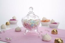 1 x Retro Style Candy Jar | Sugar Bowl | Wedding Favour Gift 13 cm high Florence