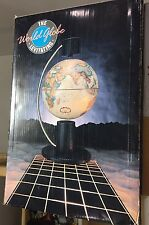 Levitating World Globe by With Design in Mind (1988) vintage old school rare new