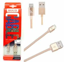 Nuevo Hoco textiles Lightning Cable De Datos upl05 Para Iphone 6 Plus 6 5s 5-Cobre