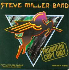 STEVE MILLER BAND - Fly like an eagle PROMO 2TR CDS 1991 CLASSIC ROCK VERY RARE!