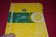 John Deere 55 Riding Mower Dealer's Parts Book Manual PANC