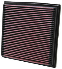 K&N Air Filter Element 33-2733 (Performance Replacement Panel Air Filter)
