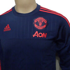 Man Utd Sweat Top AI7350 Dark Blue Size X/Large