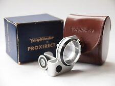 Voigtlander 93/192 Proxirect Close-Up Lens Attachment, Boxed. St No u7137