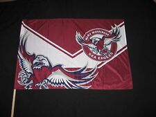 MANLY SEA-EAGLES NRL GAME DAY FLAG - NEW