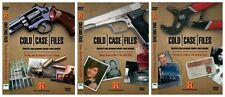 COLD CASE FILES HISTORY CHANNEL MURDER DOCUMENTARIES COLLECTION NEW 3 DVD R4