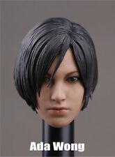 Custom Ada Wong 1/6 Head Sculpt for Resident Evil Hot Toys Female Phicen Body