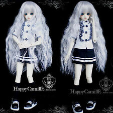New Sweet Black White Shirt+Skirt Suit/Outfit For 1/3 ,1/4 DD BJD SD Clothes