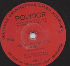 The Cherokees 1948 mit Hans Bardeleben Gesang : Mondnacht auf Cuba