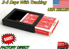 Vanishing/Disappearing Deck Cards & Box Close-Up/Street Magic Trick Illusion