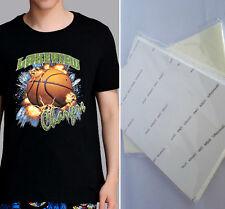 2 X A4 T Shirt Transfer Paper Iron On Dark Fabrics Heat Press Ink Jet Print