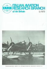 ITALIAN AVIATION RESEARCH SEP 73 FACSIMILE: CANT Z.506 STORY/ MC.91 BOMBER