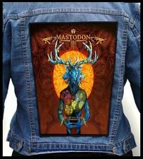 MASTODON --- Giant Backpatch Back Patch / Gojira Pelican Zoroaster Intronaut