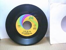Old 45 RPM Record - Uni 55281 - Olivia Newton-John - If Not For You / Biggest Cl