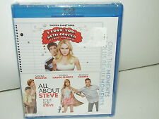 I Love You, Beth Cooper/All About Steve (Blu-ray, 2 Discs,Region A, Canadian NEW