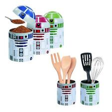 Star Wars R2-D2 Droid Kitchen Storage Set 3-Pack (Container Not Perfect) NEW!