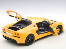 Autoart LOTUS EXIGE S YELLOW COMPOSITE MODEL 3 OPENINGS 1/18 Scale In Stock New!