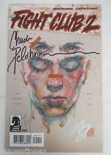 SDCC Comic Con 2015 Dark Horse Fight Club 2 Mini Comic Signed Chuck Palahniuk
