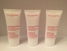Lot/3 Clarins Exfoliating Body Scrub For Smooth Skin  1 oz / 30 ml X 3
