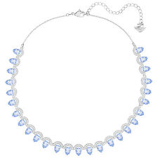 SWAROVSKI CRYSTAL GALLERY ALL AROUND PEAR NECKLACE 5277514.NEW IN BOX.