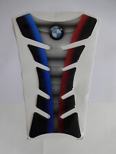 Motorcycle Tank Pad Protector Sticker | (Bmw) Blue/Grey/Red