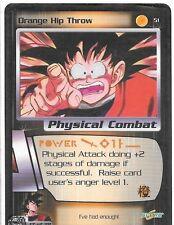 Dragonball Z TCG *Gratis Schutzhülle* | Orange Hip Throw - #51 | 2001