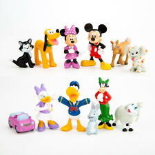 Disney Mickey Mouse Clubhouse Cake Decoration Set-Topper 12 Figures & Birthday