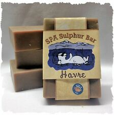 Ginger Lime _Havre_ SPA Sulphur Soaps Made in Montana_Handmade Homemade