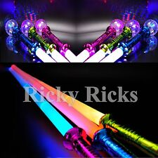 Light-Up Expandable Sword Samurai Saber Stick LED Flashing Ninja Retractable