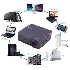 3800 Lumens HD 1080P Home Projector Theater Cinema LED/LCD HDMI VGA AV TV VGA HD
