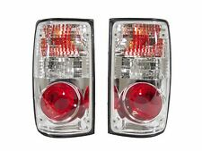 DEPO 89-95 TOYOTA PICKUP TRUCK 2WD 4WD EURO RED / CLEAR TAIL LIGHTS TAIL LAMPS