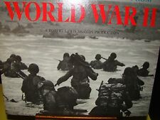 World War WWII Historic Voices and Music LP Album~American Heritage 1966