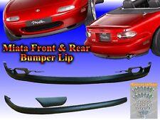 90 91 92 93 94 95 96 97 Mazda Miata MX-5 Front & Rear Lower Bumper Lip Spoiler