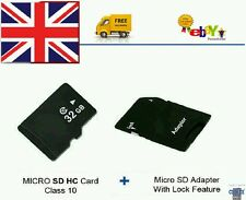 32GB Memory Card Class 10 MICRO SDHC MEMORY CARD + FREE ADAPTER. FREE FAST POST