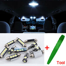 7pcs Premium LED Bulbs Kit Interior White Error Free For Vauxhall Opel Astra J