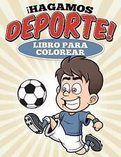 Libro para Colorear Hagamos Deporte! by Uncle G (2015, Paperback)