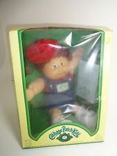 1983 Cabbage Patch Kids Doll Boy Triang Pedigree + adoption ppw w/ BOX